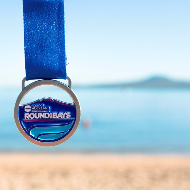 2020 Round the Bays - Medal Engraving