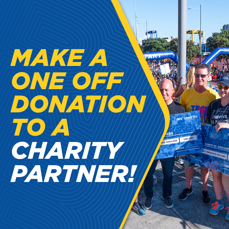 2020 Round the Bays - Charity Donation